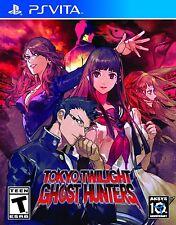 Tokyo Twilight Ghost Hunters [Sony PlayStation Vita PSV, Strategy Visual Novel]