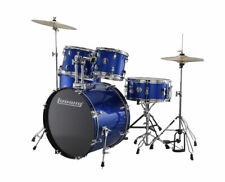 Ludwig Accent Drive 5 Piece Drum Set - Blue Foil