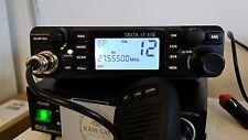 CB RADIO MOBILE DELTA lt-318 Multi band Am Fm + ANTENNA CB DELTA 875n2 STARTER