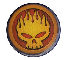 The Offspring Skull logo 1 inch button pin badge
