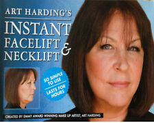 HOLLYWOOD´S Instant Face Lift and Neck Lift(Dark Hair)Kit.Anti Wrinkles
