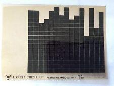 Lancia Thema 8:32 Microfiches (series 1)