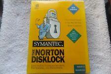SYMANTEC THE NORTON DISKLOCK VERSION 3.5 WINDOWS/DOS BOXED ( old 1994 software )