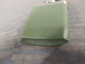 Stanley Master Unbreakable Hip Flask 8 oz - Olive Drab - Used - Good