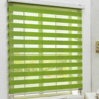 Window Zebra Blind roll up Vertical customized Curtain horizontal treatment  H64