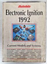 Autodata Manual De Encendido electrónico sistema de prueba, componente reemplazar 1992