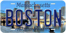 Boston Massachusetts Novelty Car License Plate