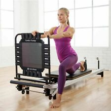 Spx Reformer Athletic Conditioning Package w/Cardio Rebounder, Black