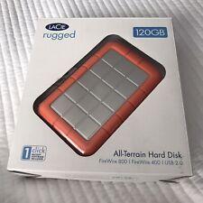 LaCie Rugged All-Terrain 301015 120 GB USB 2.0 Portable Hard Disk NIB