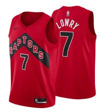 Мужские Торонто Рэпторс Кайл Лоури красный 2020/21 значок Swingman Jersey совершенно новый