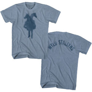 Bill and Ted Wyld Stallyns Two Headed Horseman Men's T Shirt Rock Band Movie Top