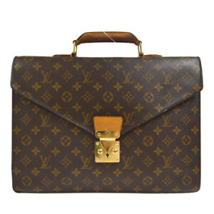 LOUIS VUITTON BUSINESS BAG MONOGRAM BROWN CONSEILLER ay M53331 37922