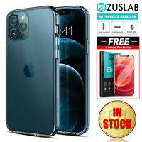 For iPhone 12 11 Pro Max mini XS XR 8 7 6 Plus Case Clear Slim Heavy Duty Cover