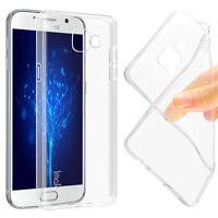 Coque Housse Etui en TPU Gel silicone Crystal Transparent Pour Galaxy Phones