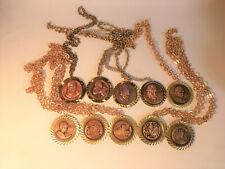 """10 Medaillen """"Andreas Hofer Marsch"""" von 1973 bis 1982 - Plakette, Auszeichnung"""