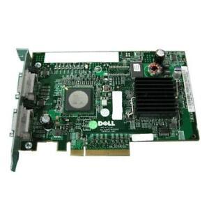 Dell PERC 5/E Dual Channel 8-Port PCI-Express SAS Controller with 256MB Cache E2