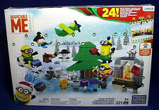 New DESPICABLE ME Advent Calendar MINIONS - Christmas Holiday 221 Pieces 24 DAYS