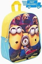 cbbab1ce77d8 Despicable Me Minions Messenger School Bag New Gift Despatch Backpack  Rucksack