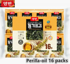 *Dongwon* Korean Kim Roasted Laver Seaweed with Perilla-oil 16Packs