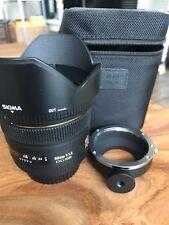 Sigma DG 50mm 1:1.4 HSM DG EX ASP Lens For Canon