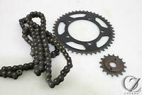 2009 GSXR 750 OEM Size Replacement Chain and sprockets  Factory Sizes