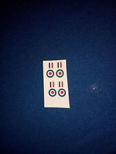 (B100) RAF Roundels / Stripes Transfert Dinky 734 / 735 / 736 / 737 / 822