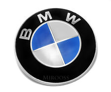 Car Emblem Chrome Front bonnet BMW Logo 82mm for Bmw