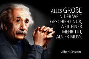Albert Einstein Spruch 31 Blechschild Schild gewölbt Metal Tin Sign 20 x 30 cm