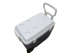 Large 46 Litre Ice Chest with Wheels - Cooler Box