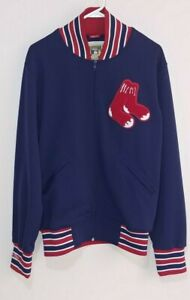 Boston Red Sox Cooperstown Authentic Collection Jacket Mitchell & Ness Size 40/M