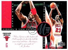 Michael Jordan 1997 Upper Deck Viewpoints MVP23 Oversize Basketball Card VP3
