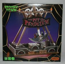 Lemax Spooky Town Pit and The Pendulum Halloween Decorations 2020