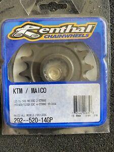 Renthal 292--520-14GP Steel Front Sprocket 14T KTM Maico 125-500