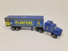 Matchbox Super Rigs MACK CH600 ~Planters Peanuts~ Truck & Trailer