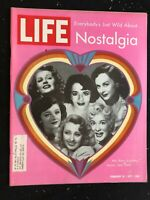 LIFE MAGAZINE Feb 19 1971 - NOSTALGIA FOR STARLETS FROM THE 40'S / Wilbur MillS