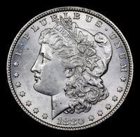 1880-o * Much Better Date * Morgan Silver Dollar $1 Gem BU * ULTRA RARE *