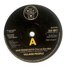 "Village People - San Francisco (You've Got Me) - 7"" Vinyl Record"