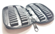 Best Hunting Rifle Cartridge Padded Holder Carrier 50 Round Ammo Bag for .22LR