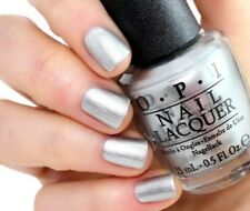OPI 50 Shades of Grey ~MY SILK TIE~ Silky Silver Shimmer Nail Polish Lacquer F74