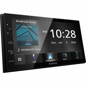 Kenwood 7 Inch CarPlay and Android Auto Media Player DMX5020S