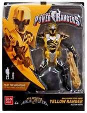 Power Rangers Super Ninja Steel 12.5cm Yellow Ranger Figure  (BNIB) 43943 - Rare