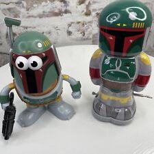 Star Wars Boba Fett Potato Head And Wind Up Toy Combo Lot