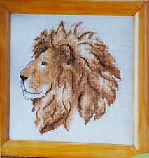 Lord of the Jungle Cross Stitch Chart - Maria Diaz