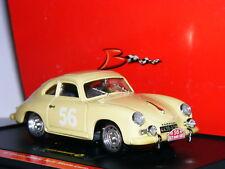 Brumm S058 Porsche 356 Coupe 1959 Monte Carlo Rally #56 LTD ED 1/43