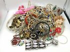 5.8 lbs. Rhinestone & Glass Assorted Scrap Jewelry Bulk Lot For Crafting JM456