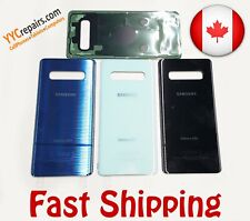 OEM Samsung Galaxy S10 Glass Rear Panel Replacement Battery Back Door Cover