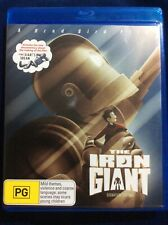 The Iron Giant - Blu Ray Movie - Region B - As New Condition - FREE POST