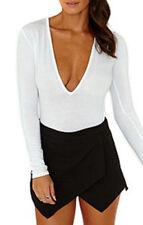Camisas y tops de mujer de manga larga color principal blanco Talla 40