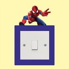 Spiderman_Light Switch_ Wall Art _Funny Decal Vinyl Sticker