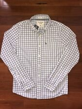 BNWT Abercrombie & Fitch Muscle Fit Shirt Sz Medium RRP $89.00